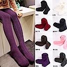 小衣衫童裝  糖果色豎條紋針織彈力褲襪1051026