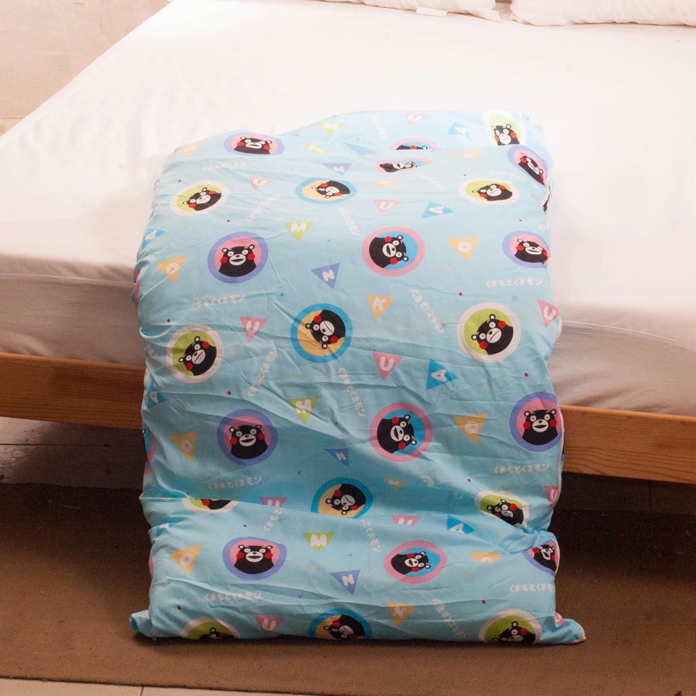 熊本熊-藍 台灣精製兒童睡袋