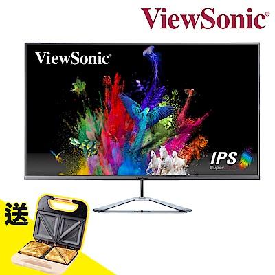 ViewSonic VX3276-MHD 32型 IPS型面板 時尚無邊框 螢幕