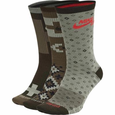 NIKE 襪子 訓練襪 中筒襪 6雙組 籃球 運動綠 SK0214907 U NK SB EVERYDAY MAX LTWT CREW