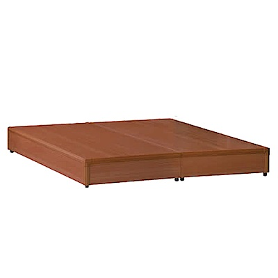 綠活居 奇斯實用型6尺雙人加大四分木床底(五色可選)-182x187x26cm免組