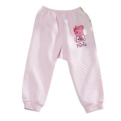 粉紅豬小妹三層純棉保暖褲 k60946 魔法Baby