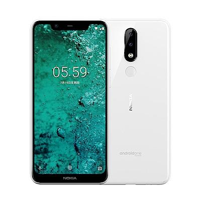 Nokia 5.1 Plus 5.8吋全螢幕智慧型手機-白色