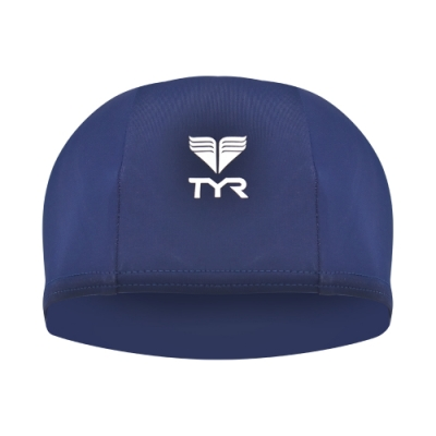 美國TYR 成人萊卡泳帽 Lycra Swim Cap Navy