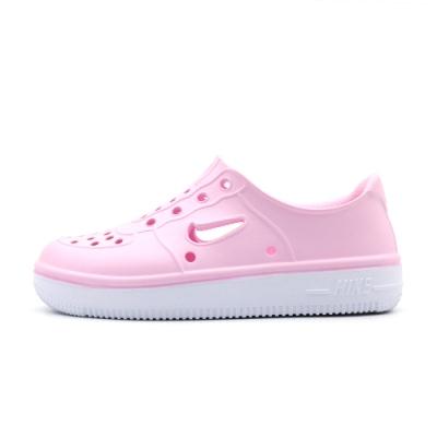 NIKE FOAM FORCE 1 中大童休閒鞋-粉-AT5243600