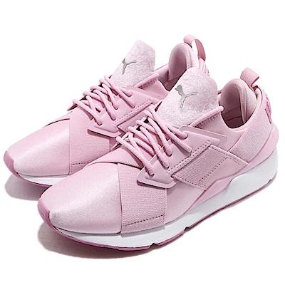 Puma 休閒鞋 Muse Satin 低筒 運動 女鞋