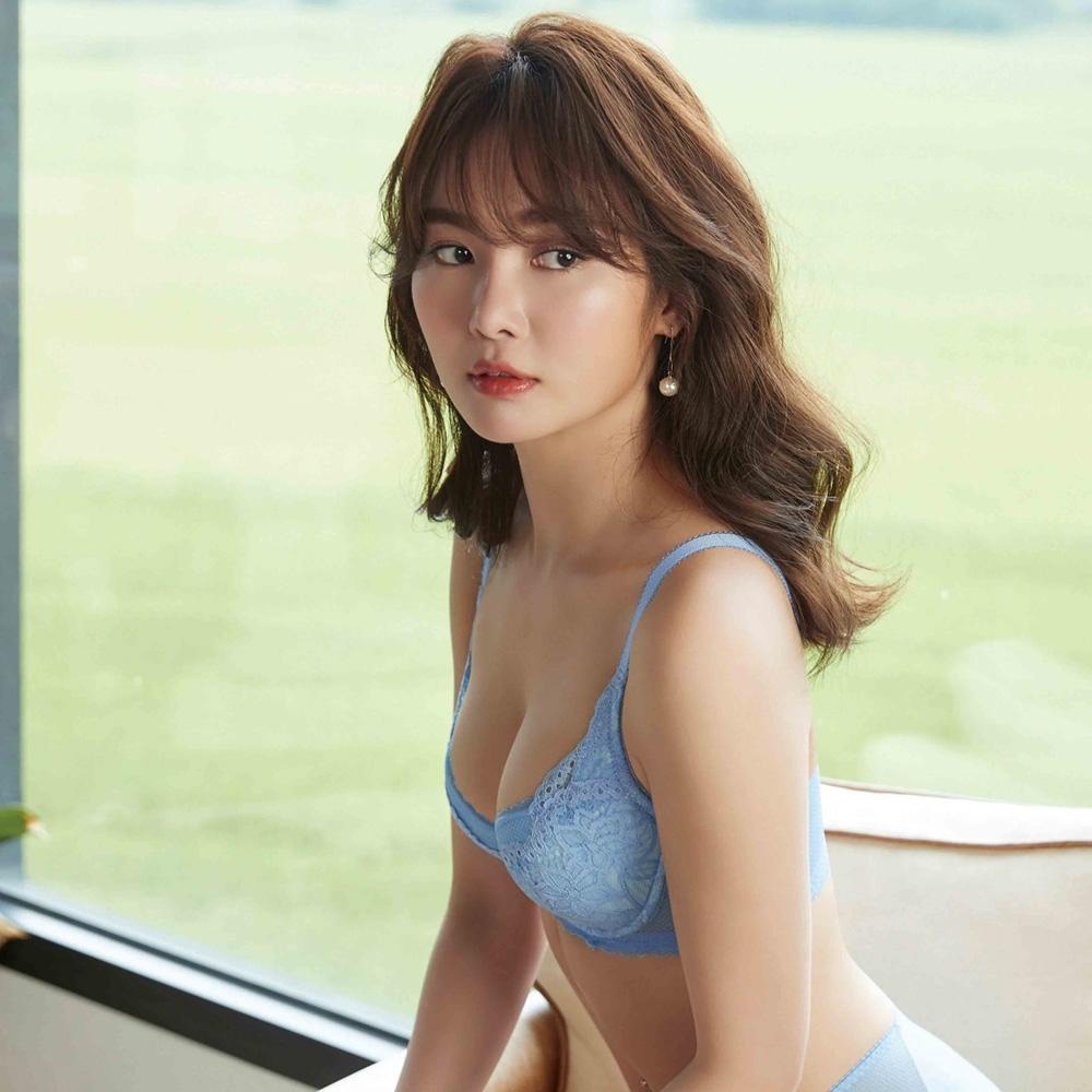 曼黛瑪璉 Hibra大波內衣 E-G罩杯(亮彩藍)
