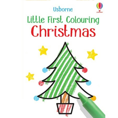 Little First Colouring Christmas 聖誕節著色書