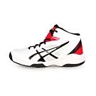 ASICS 大童籃球鞋 DUNKSHOT MB 8 白黑紅