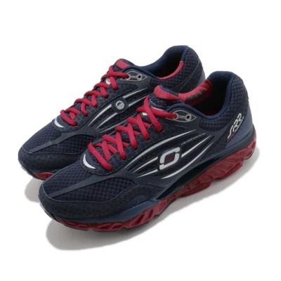 Skechers 慢跑鞋 SRR Pro-Resistance 男鞋 超回彈 久站久走 穩定 足弓推進器 緩震 紅 藍 999636NVRD