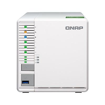 QNAP 威聯通 TS-332X-4G 3Bay 網路儲存伺服器