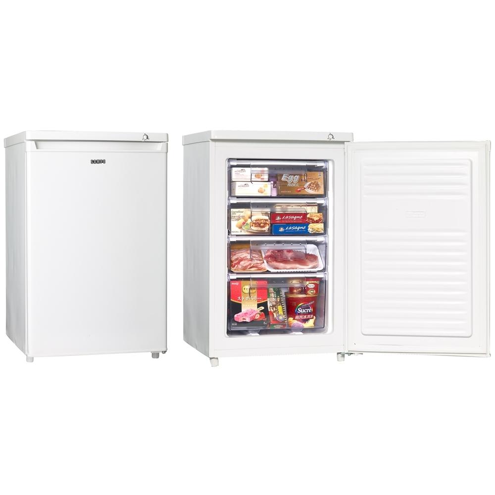 SAMPO 聲寶87公升直立式 冷凍櫃 SRF-90S