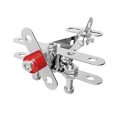 ZEYE-益智金屬積木-飛機(組裝模型)