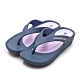 GOODYEAR 防水Q彈輕便健走夾腳拖鞋 藍紫 92617 product thumbnail 1