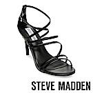 STEVE MADDEN-ALLA 性感系繞踝細跟涼鞋-黑色
