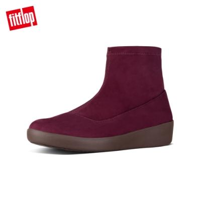 FitFlop  OTTIE SOCK FAUX - SUEDE 梅紅色