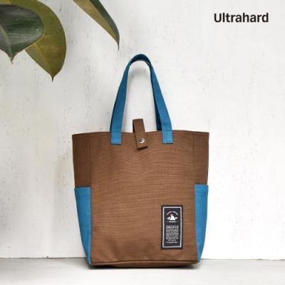 Ultrahard Travel Around閱讀書袋 - 東京(棕褐)
