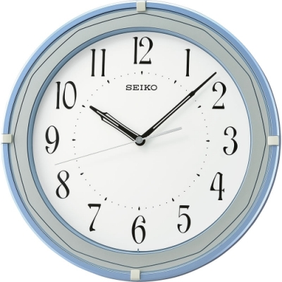 SEIKO 日本精工 滑動式秒針 時鐘(QXA748L)31.6cm