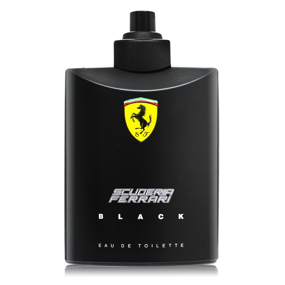 *Ferrari法拉利 Black黑色法拉利男性淡香水125ml-TESTER-國際航空版