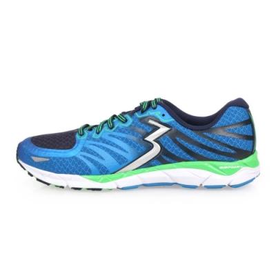 361度 361° 男慢跑鞋-訓練 路跑 藍丈青綠銀