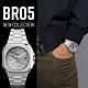 Bell & Ross BR05時尚機械錶-銀色x鋼帶/40mm product thumbnail 1