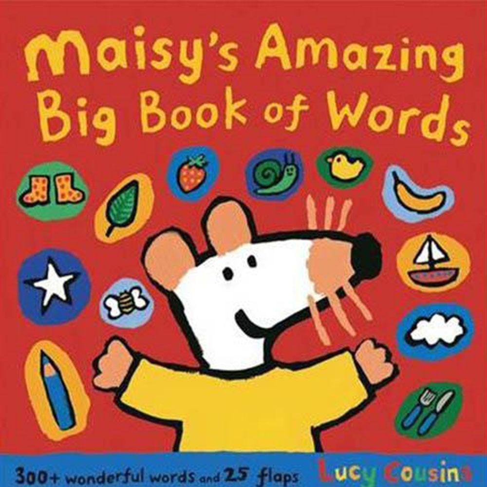 Maisy's Amazing Big Book Of Words 波波字彙小百科