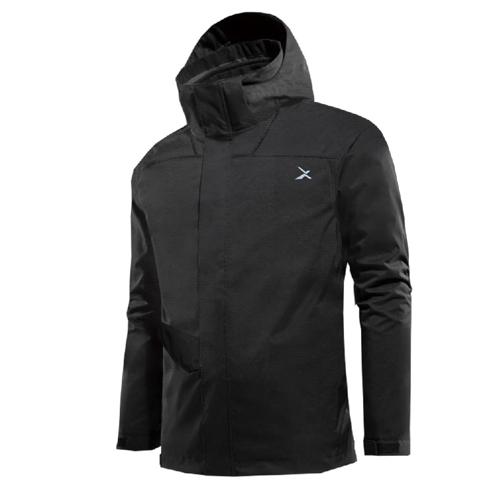 EGXtech 薄外套AJ-1 輕量防風防水外套(黑)