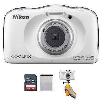Nikon-Coolpix-W100-防水相機-公