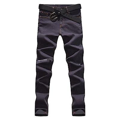 BuyGlasses 保暖內層刷毛牛仔長褲
