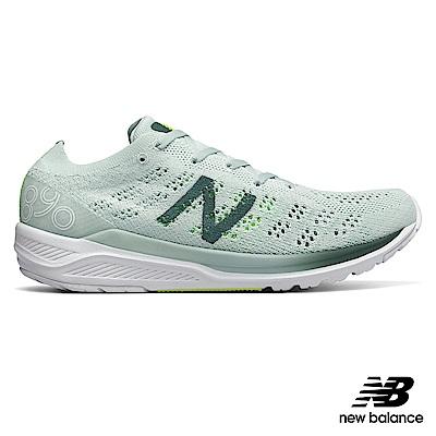 New Balance輕量跑鞋W890BG7-B_女蘋果綠