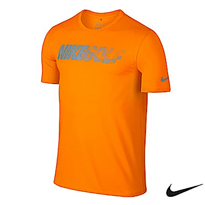 Nike Golf 運動短袖 橘 746079-868