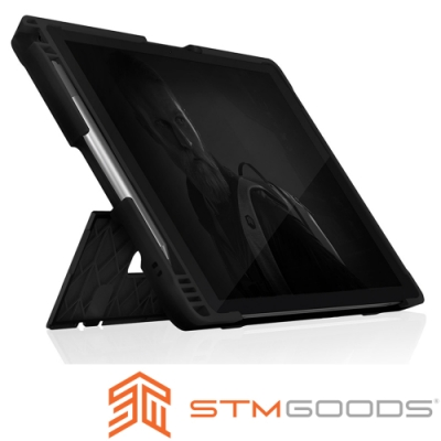 澳洲STM Dux Shell for MS Surface Pro 7防摔平板保護殼-黑