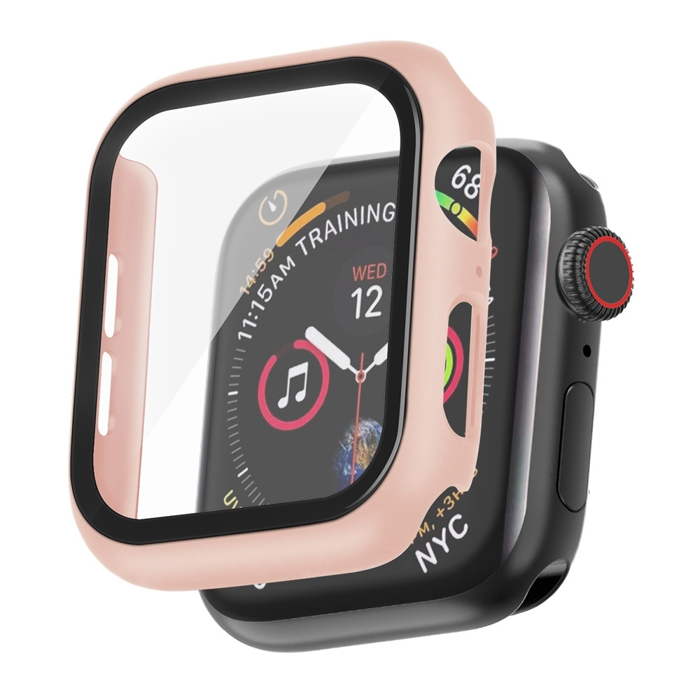 IN7 Apple Watch手錶防摔電鍍保護殼 PC+鋼化膜 保護套44mm product image 1