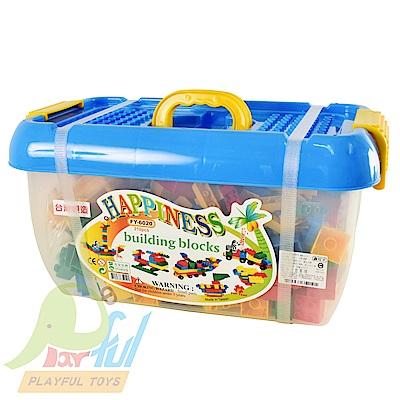 Playful Toys 頑玩具 310片方形桶裝積木