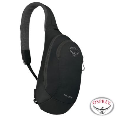 OSPREY 新款 Daylite Sling 6L 輕量多功能休閒單肩背包_黑 R