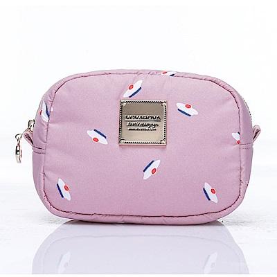 VOVAROVA空氣包-隨身化妝包-French Pom Pom(Pink)