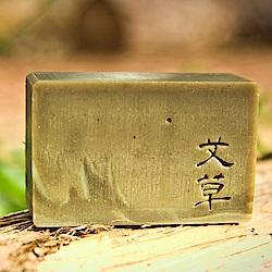 文山手作皂-淨身艾草_沐浴皂