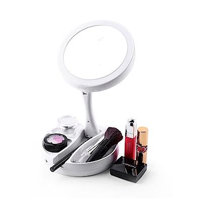 COMET LED雙面補光折疊化妝鏡(FH-803)-快