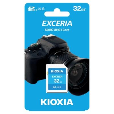 KIOXIA EXCERIA SDHC UHS-I U1 C10 R100 32GB 記憶卡