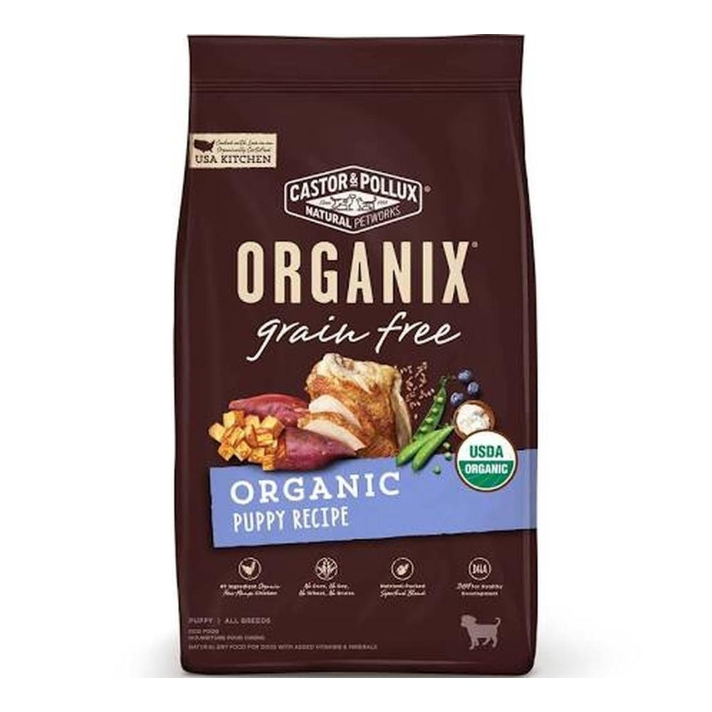 美國Organix 歐奇斯有機飼料95%有機無穀幼犬4LB(1.81KG) (CP-OR-35038)