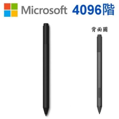 (4096階) Microsoft 微軟 原廠 Surface Pen 型號:1776 (黑色塑殼裝) 手寫筆 Studio/Laptop/Book/Pro 3 4 5 6 7/Surface Go