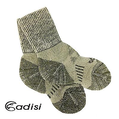 ADISI 美麗諾羊毛保暖襪AS15218【橄綠】