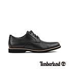 Timberland 男款黑色全粒面休閒鞋|A1XSX