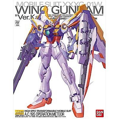 BANDAI GUNDAM鋼彈MG 1/100 XXXG-01W飛翼鋼彈 Ver.K