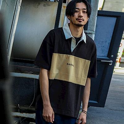 寬版素色短袖襯衫橄欖球衫(6色) ZIP日本男裝