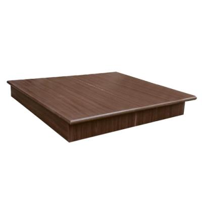 愛比家具 6尺雙人加大強化6分硬床底(兩色可選)