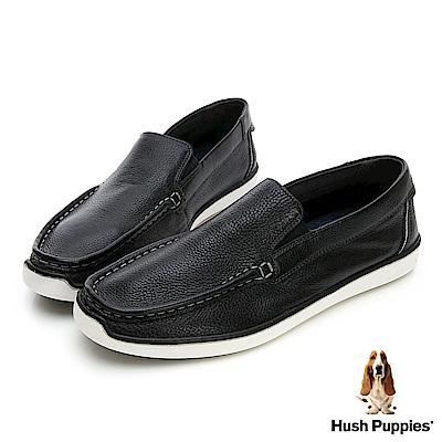 Hush Puppies TOBY 軟Q休閒鞋-幻黑