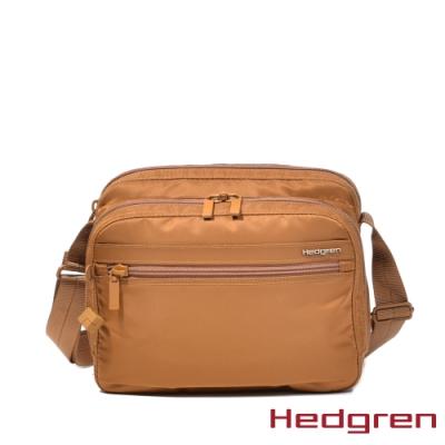 【Hedgren】黃多層收納斜背包(HIC226 METRO)