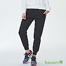 bossini女裝-厚棉束口長褲02黑