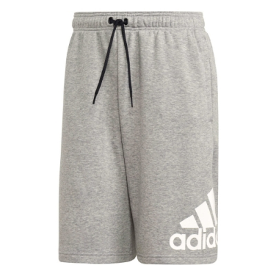 adidas 短褲 運動 休閒 健身 訓練 男款 灰 EB5260 M MH BOS SHORT FT